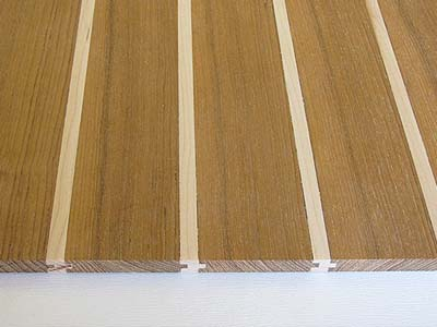 Teak Wood Boat Decking